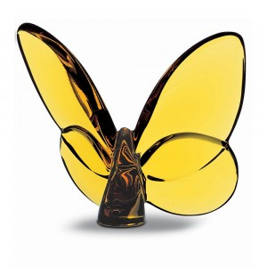 Baccarat Crystal Lucky Olive Butterfly