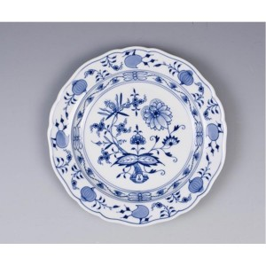 Meissen Blue Onion Salad Plate