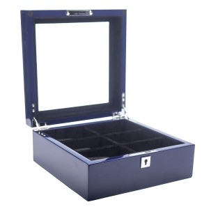 Blue Lacquer Watch Box