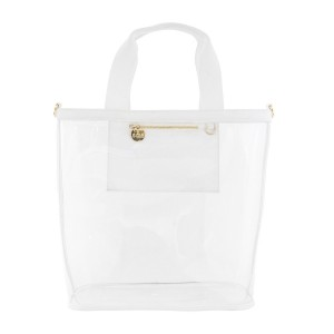 Stoney Clover Bucket Tote Clear/White