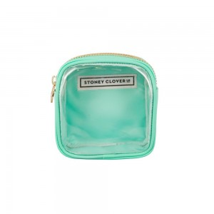 Stoney Clover Mini Clear Pouch, Mint