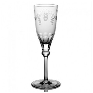 William Yeoward Crystal Elizabeth Champagne Glass
