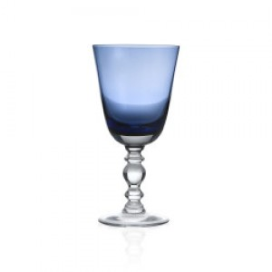 William Yeoward Country Fanny Blue Water Goblet