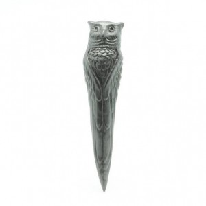 Graphite Owl Object/Pen