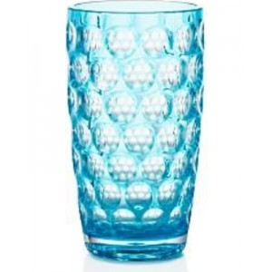 Acrylic Highball Glass, Turquoise