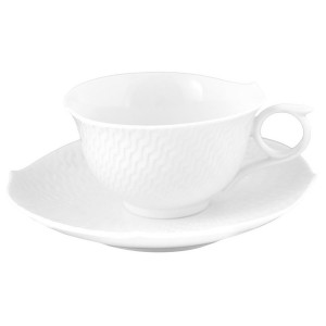 Meissen Waves Relief Coffee/Tea Saucer