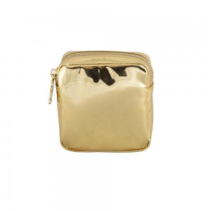 Stoney Clover Mini Pouch, Patent Gold