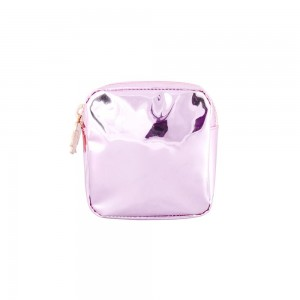 Stoney Clover Mini Pouch, Patent Pink