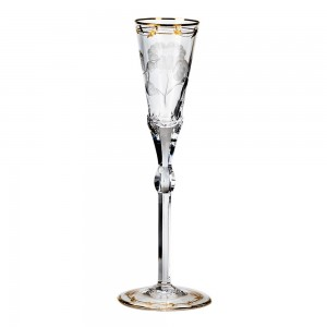 Moser Crystal Paula Champagne Flute