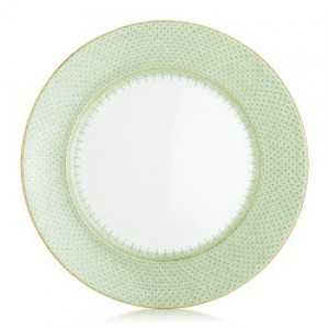Mottahedeh Green Lace Service Plate