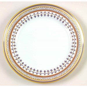 Mottahedeh Chinoise Blue Dessert Plate