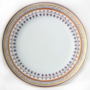 Mottahedeh Chinoise Blue Dinner Plate