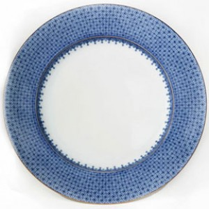 Mottahedeh Blue Lace Bread and Butter Plate