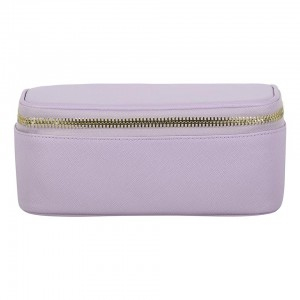 Stoney Clover Open Top Mirror Pouch, Lavender