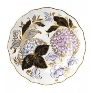Royal Crown Derby Midwinter Blue Accent Plate