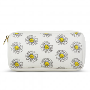 Stoney Clover Small Pouch, Daisies
