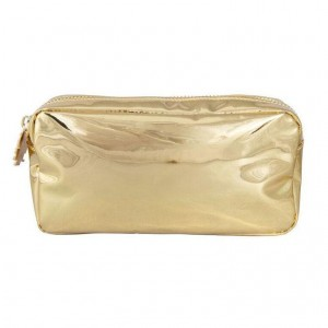 Stoney Clover Small Pouch, Gold Patent