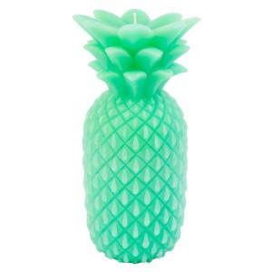 Pineapple Candle, Turquoise