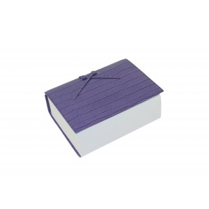 Lavender Leather Croc Think Pad