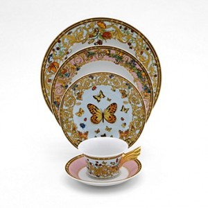 Versace Butterfly Garden Bread and Butter Plate