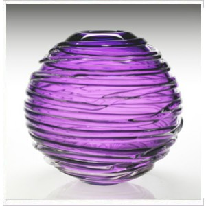William Yeoward Purple Sophie Vase, Large