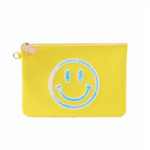 Stoney Clover Smiley Pouch Yellow